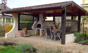 Веранда с барбекю или мангалом — строим сами!
