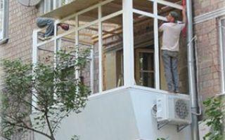 Как сделать навес над балконом самостоятельно