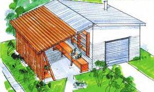 Что лучше и удобней — гараж или навес?