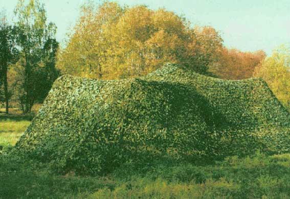 Камуфляжная сетка палатка