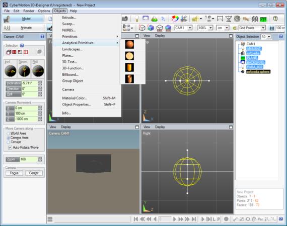 CyberMotion 3D Designer