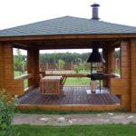 Летняя кухня с мангалом дизайн и проекты