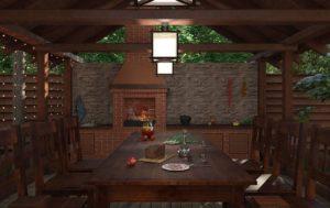 ремонт летней кухни